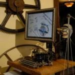 Casa SteamPunk, sonho geek