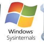 Usando o Sysinternals para diagnóstico/manutenção