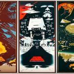 Fantásticos posters da Trilogia Original de Star Wars