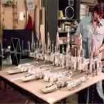 Construindo Star Wars, 140 fotos dos modelos feitos pela ILM