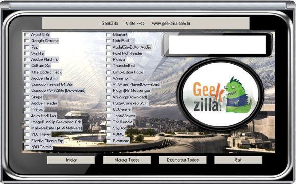 GeekZilla Installer, 36 programas com um clique