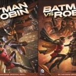 Batman versus Robin, confira o trailer legendado( animação DC):