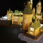 Veja a Hogwarts de LEGO que levou um ano para ser construída