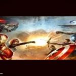 Capitão América: Guerra Civil, nova arte mostra as facções no MCU