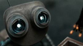 Curta animado mostra o trabalho em equipe entre robôs concorrentes