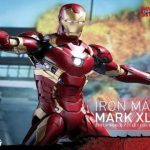 Hot Toys revela colecionáveis do Homem de Ferro baseados no filme Guerra Civil