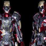 Armadura do Iron Man em tamanho real tem 567 partes móveis