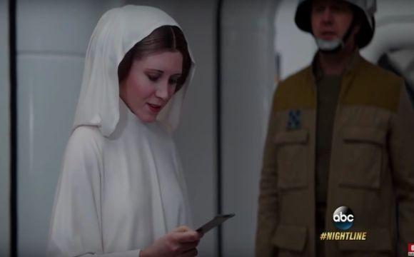 Veja como foram criadas as versões digitais do Grand Moff Tarkin e Princesa Leia em Rogue One