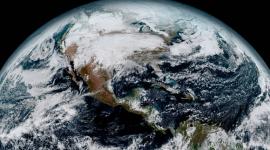 A Terra vista do Espaço, veja as incriveis fotos tiradas pelo satélite GOES-16