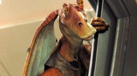 Depressivo destino de Jar Jar Binks é revelado em novo livro oficial de Star Wars