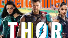 Primeiras fotos oficiais de Thor, Hela e Valkyrie são reveladas
