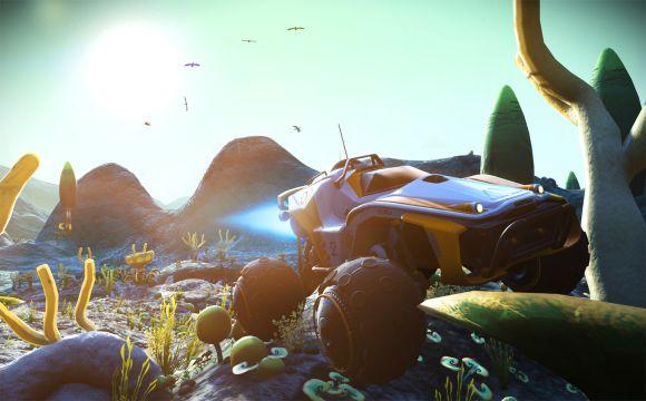 No Man's Sky's, nova atualização adiciona veículos exploradores