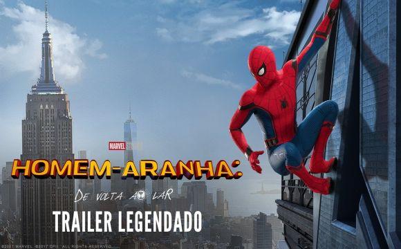 Homem-Aranha De volta ao Lar, novo trailer legendado