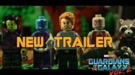 Guardians of The Galaxy Vol.2 novo trailer….recriado em LEGO!