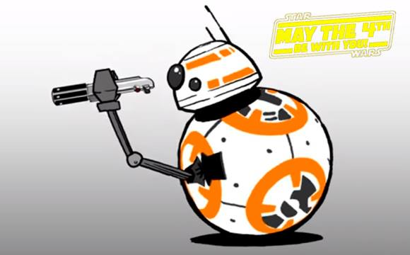 BB-8 está arrasando nesta nova animação
