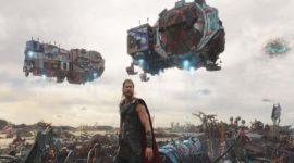 Galeria de Arte Moderna da Marvel mostra modelo do planeta Sakaar, de Thor Ragnarok