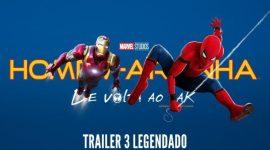 """Homem-Aranha de Volta ao Lar, trailer legendado tem direito a """"bastidores""""de Guerra Civil"""